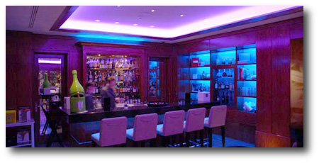 Alimentation led bar, club