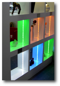 Alimentation led etagere